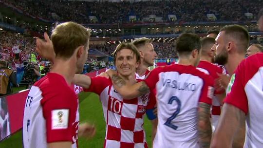 """Após vitória, Modric espera aproveitar tropeço da Argentina: """"Expectativa quebrada"""""""