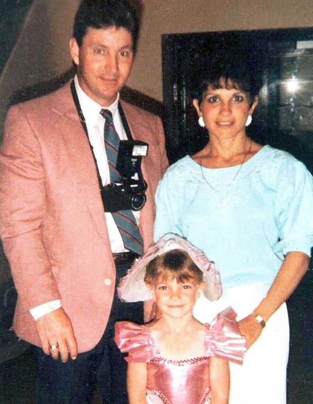 Britney com os pais, Jamie e Lynne Spears (Foto: Reprodução Instagram)