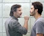 LC (Antonio Calloni) e William (Thiago Rodrigues) | TV Globo