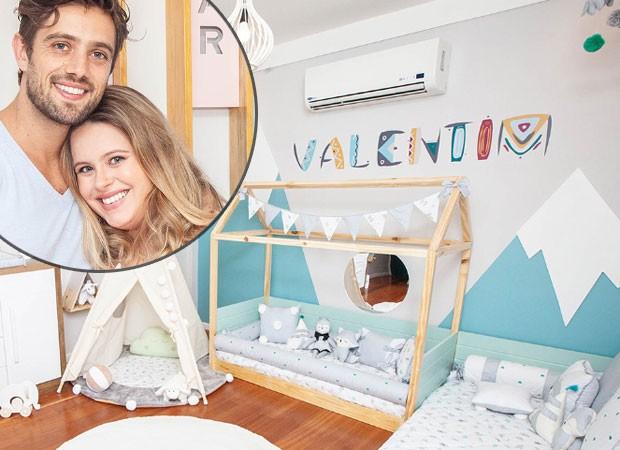 Mariana Bridi mostra decoração de quarto de Valentim, seu caçula com Rafael Cardoso (Foto: Reprodução do Instagram @graodegente)