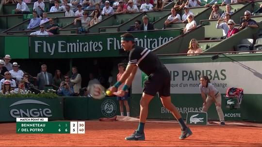 Del Potro e Serena com a língua afiada em Roland Garros