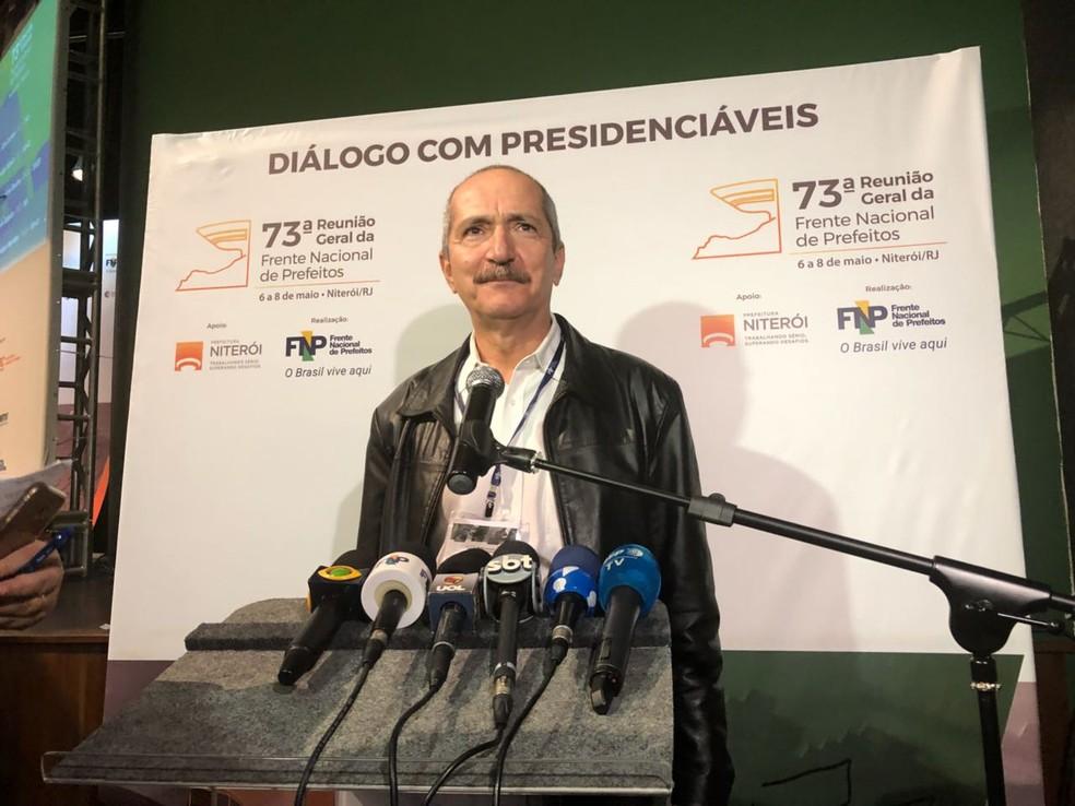Aldo Rebelo (Foto: Matheus Rodrigues/G1)