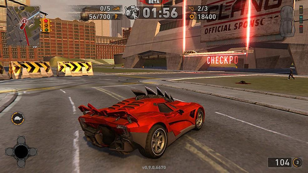 Carmageddon: Max Damage ofereceu aos jogadores uma experiência nostálgica digna dos games originais (Foto: Reprodução/Car Canyon)
