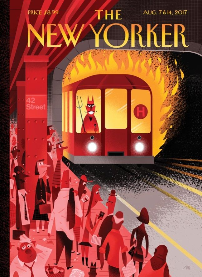 Capa da The New Yorker (Foto: The New Yorker)