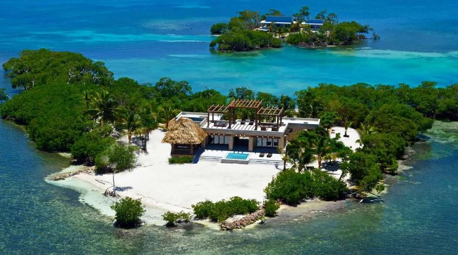 Gladden Island, em Belize (Foto: Reprodução )