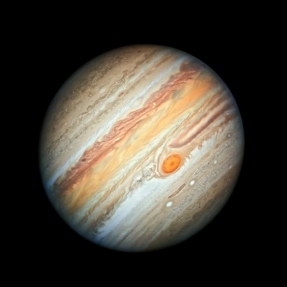 Planeta Júpiter — Foto: Nasa