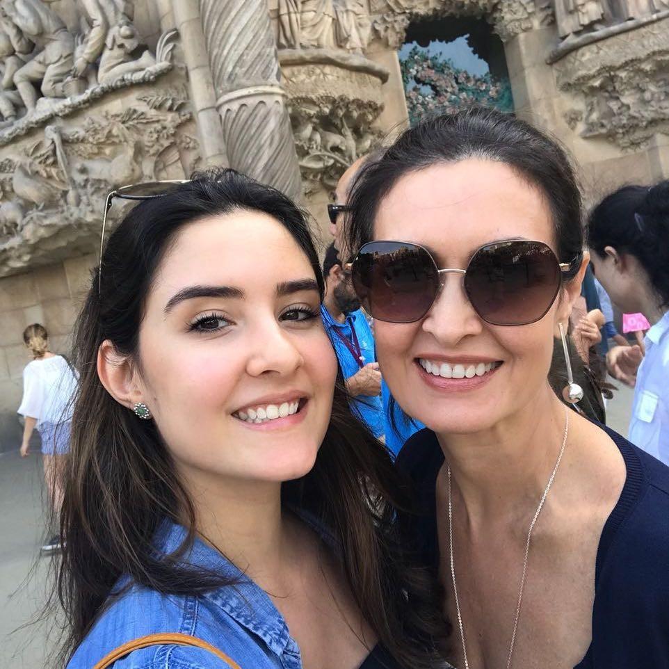 Fátima Bernardes e filha  (Foto: Reprodução / Instagram)