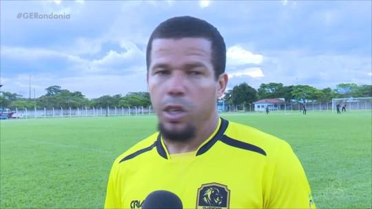 'Se tiver a oportunidade, temos que fazer o gol', diz Edilsinho durante treino do Vilhenense