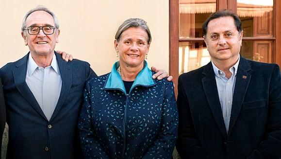 Jean Claude Berrouet,Patricia Tapiz  e Fabián Valenzuela