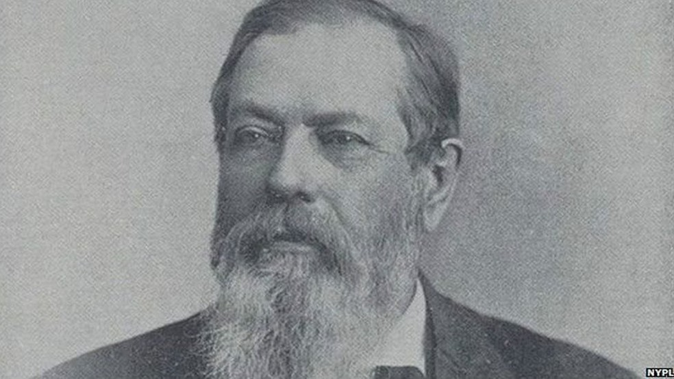 William Fowler era o mestre de cerimônias do Clube dos Treze em Nova York (Foto: NYPL)