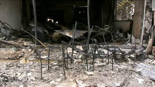 Bombeiros controlam 80% do incêndio florestal que atingiu 3 cidades na Coreia do Sul