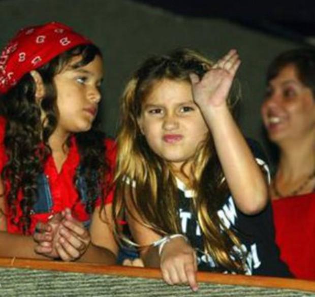 Bruna Marquezine e Sasha em show de Ivete Sangalo (Foto: Reprodução)