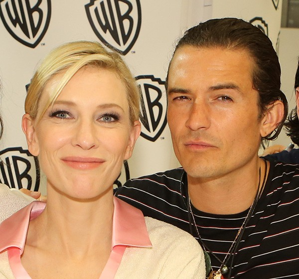 Cate Blanchett e Orlando Bloom (Foto: Getty Images)