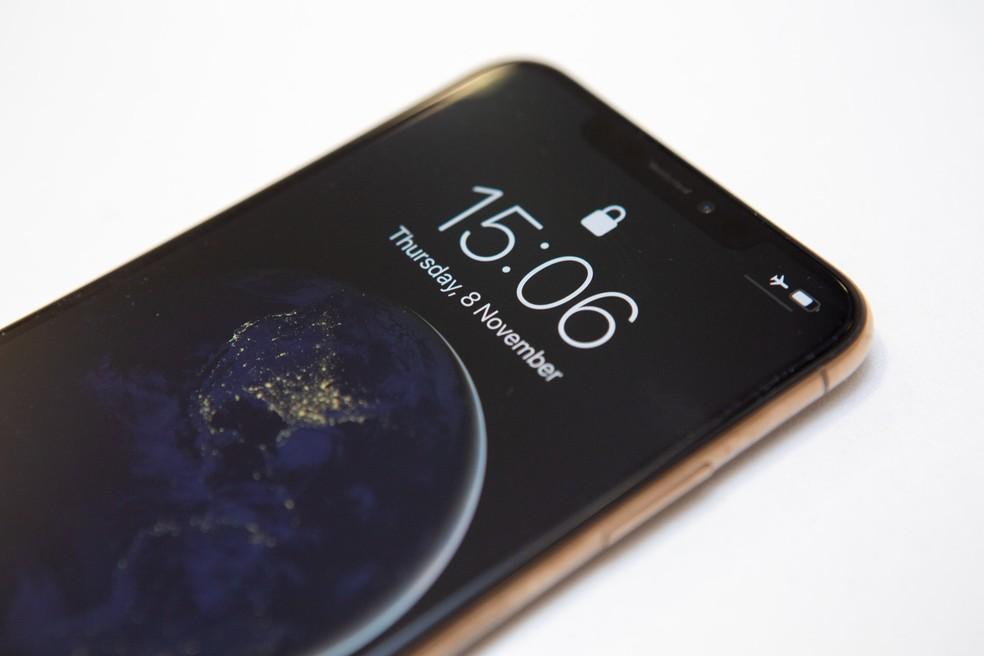 G1 testou o novo iPhone Xs Max. — Foto: Marcelo Brandt/G1
