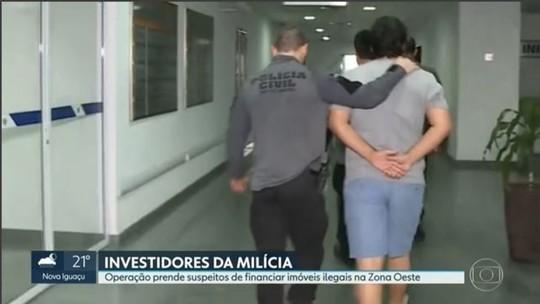 Milícia do RJ também lucrou com shopping e escritórios, diz MP