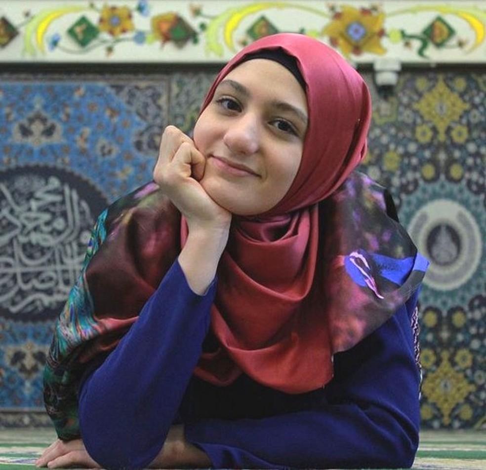 Fatima: 'Ser uma mulher islâmica é libertador, as pessoas generalizam os muçulmanos, mas não somos oprimidas' — Foto: Arquivo Pessoal