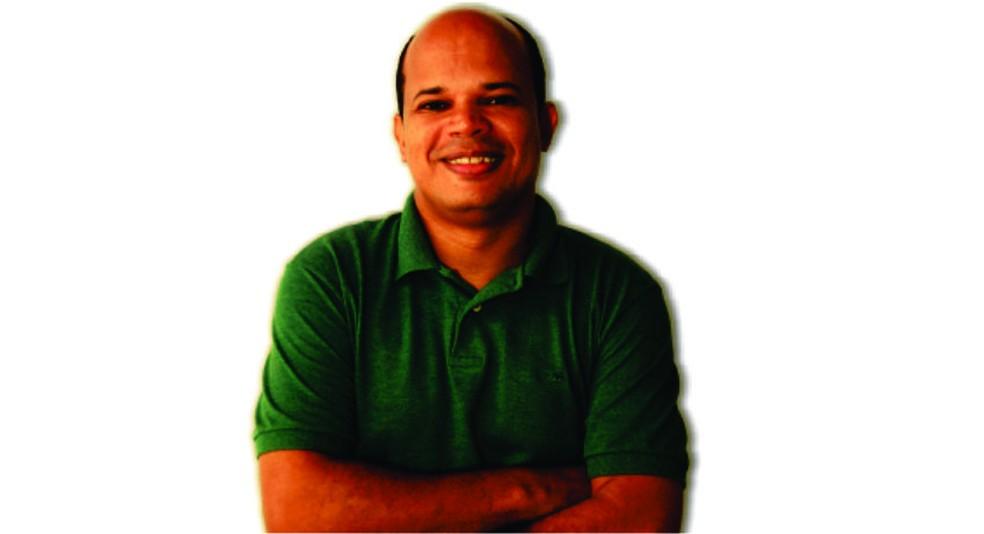 Jornalista Décio Sá, de 42 anos foi morto na Avenida Litorânea em São Luís — Foto: Divulgação