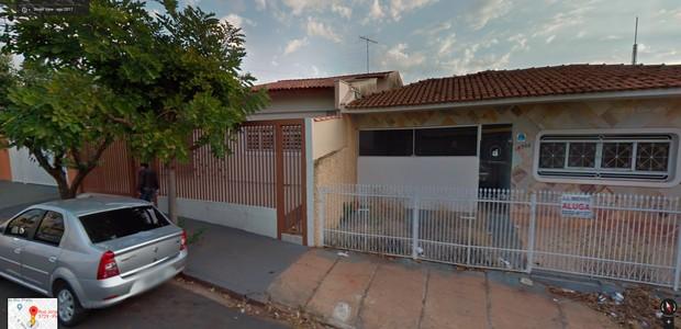 Imagem feita pelo Google Street View de uma área não comercial (Foto: Reprodução / Google Street View)