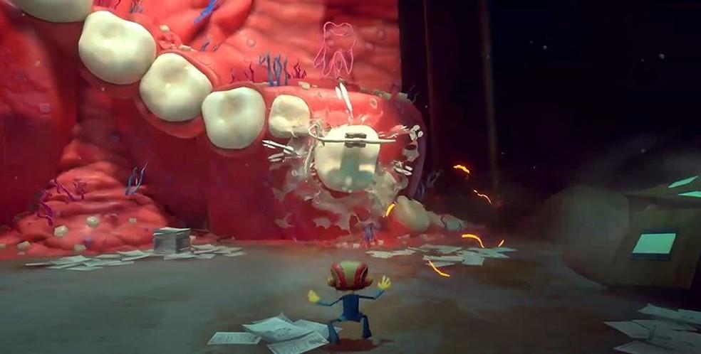 Psychonauts 2 chama atenção na E3 2021 — Foto: Reprodução/Xbox & Bethesda Games Showcase