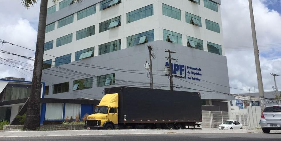 Prédio da sede do MPF em João Pessoa (Foto: Ascom/MPF/Arquivo)