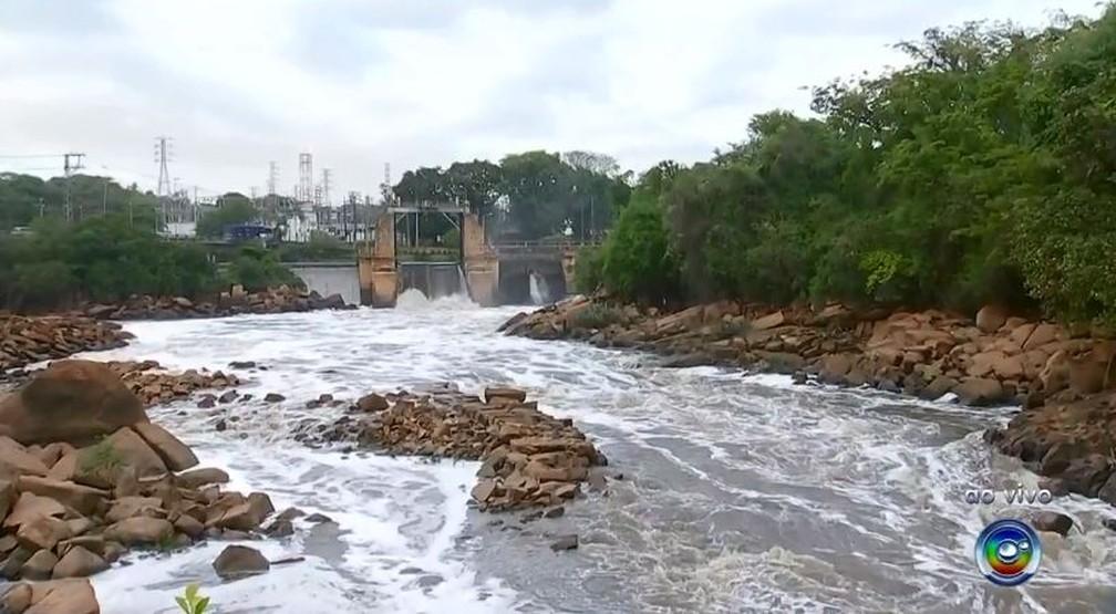 Rio Tietê tem melhora na qualidade da água em Salto  — Foto: TV TEM/Reprodução