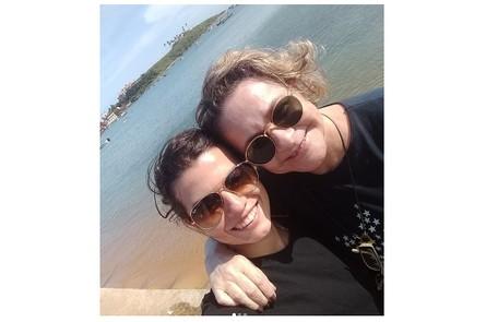 Fernanda e Fafy em Guarapari, no Espírito Santo Reprodução/Instagram
