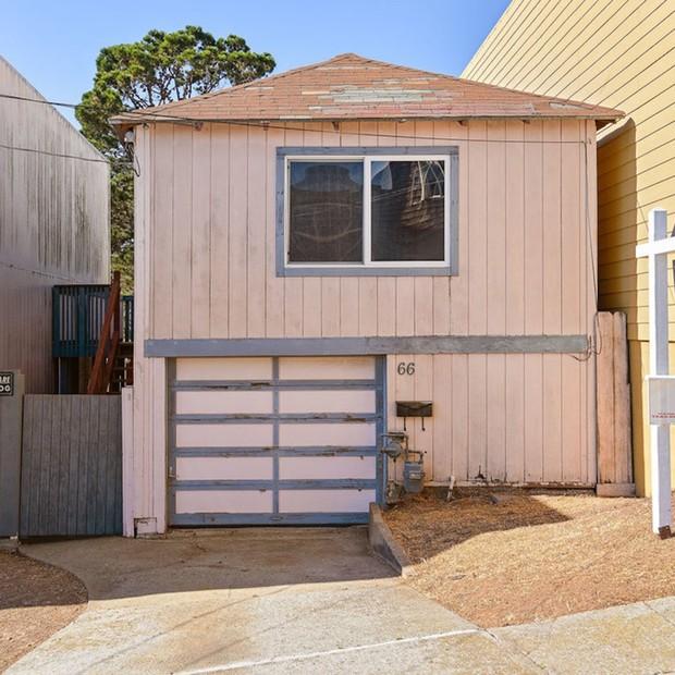 Esta casa com menos de 50 metros quadrados foi vendida pelo equivalente a R$ 2,2 milhões em São Francisco (Foto: Divulgação/]Open Homes Photography)