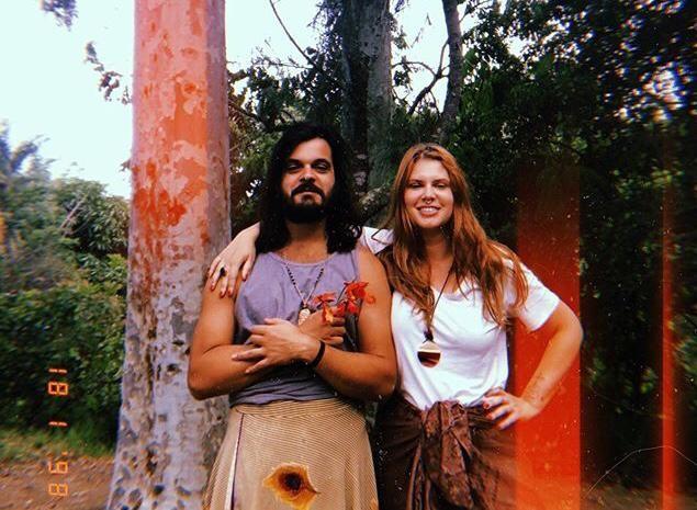 Lucas Rangel e Carolinie Figueiredo (Foto: Reprodução/Instagram)