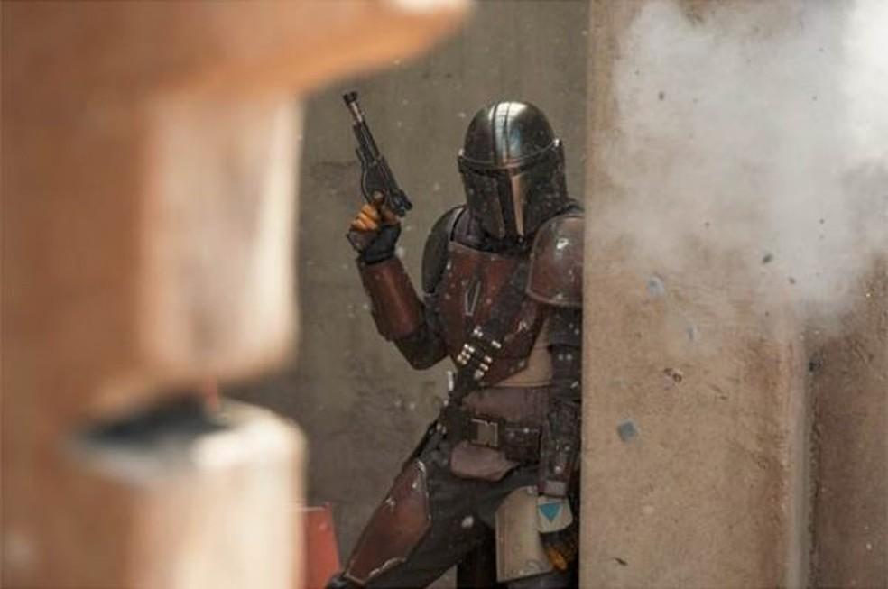 'The Mandalorian', série baseada em 'Star Wars' — Foto: Divulgação/Disney