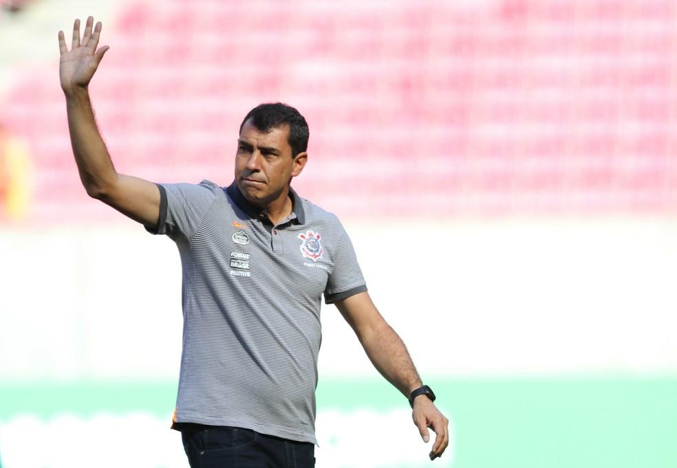Fábio Carille deixou o Corinthians em maio deste ano — Foto: Marlon Costa/Futura Press