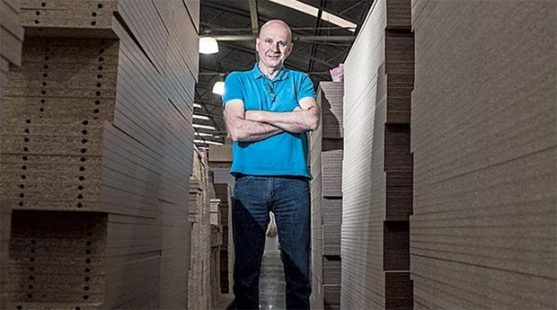 Elio Sergio Pavanato, presidente da Linea: seguros para evitar riscos nas vendas para o exterior (Foto: PEGN)