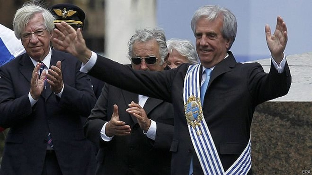 Tabaré Vázquez — Foto: EPA