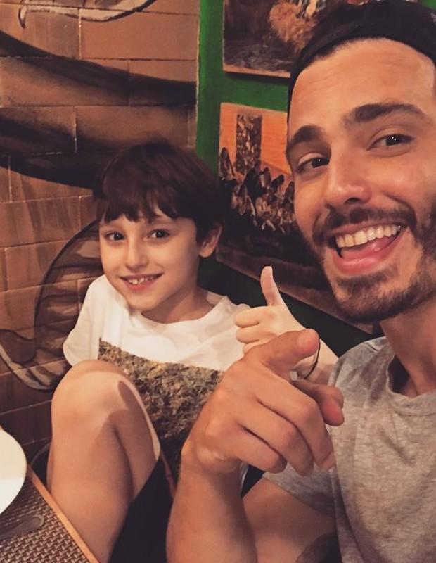 Thiago Rodrigues e Gabriel (Foto: Reprodução/Instagram)