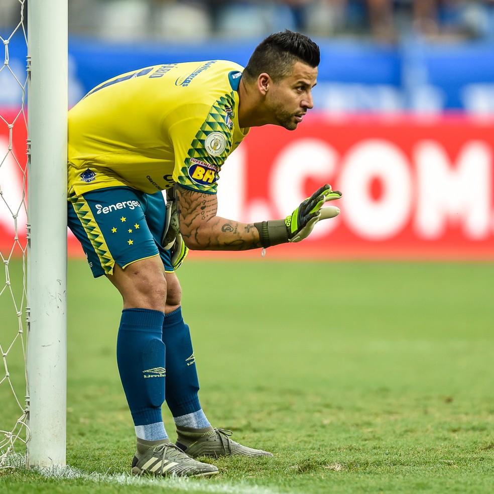 Fábio tem contrato até o final de 2020 com o Cruzeiro  — Foto: Douglas Magno/BP Filmes.