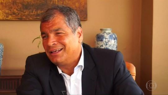 Justiça decreta prisão preventiva de ex-presidente do Equador