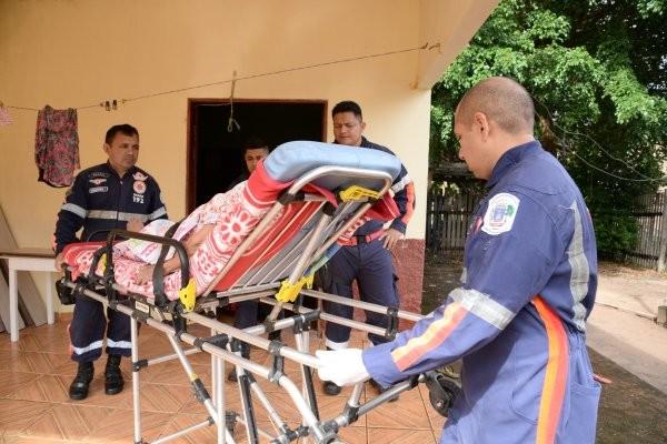 Samu registra chamados para esfaqueamentos e acidentes de trânsito em Santarém