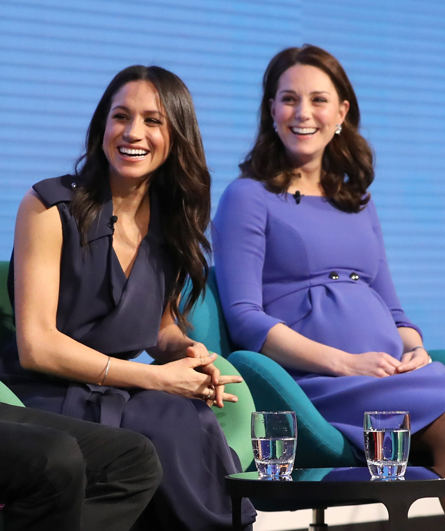 As cunhadas: Meghan e Kate Middleton  (Foto: Getty Images)