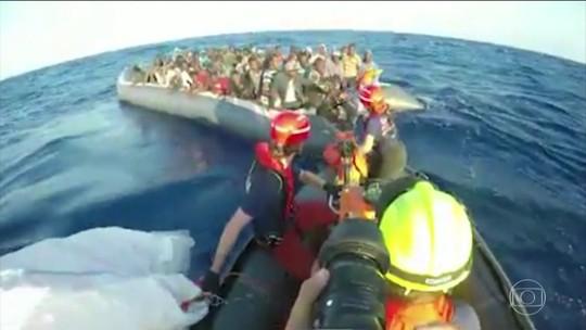 Mortes de imigrantes no Mar Mediterrâneo atingem nível mais alto em 18 meses