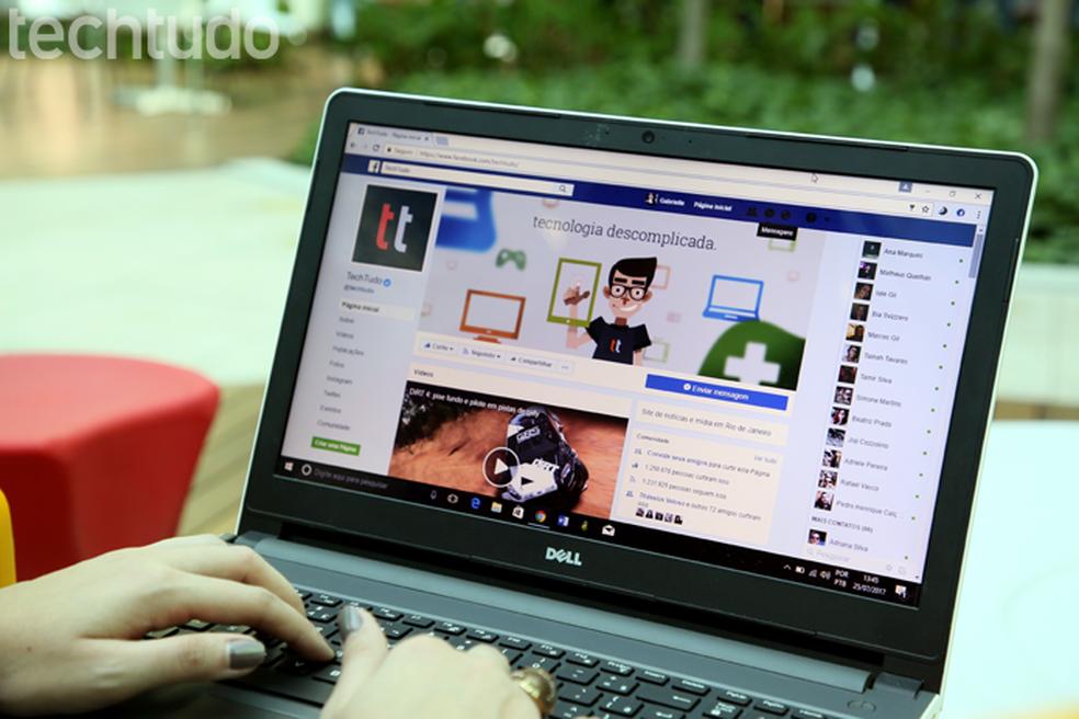 Facebook  muda ferramenta de reconhecimento facil de usuários (Foto: Carolina Ochsendorf/TechTudo)