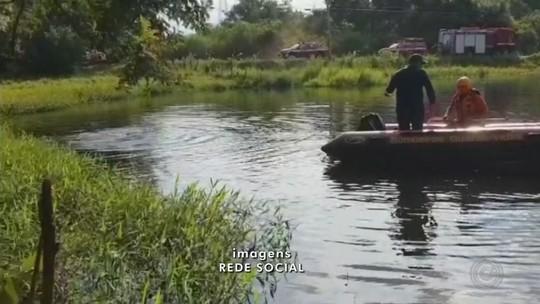 Bombeiros encontram corpo de homem em lago de Boituva