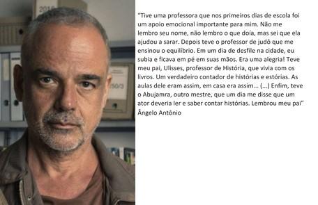 Ângelo Antônio está na nova temporada  TV Globo