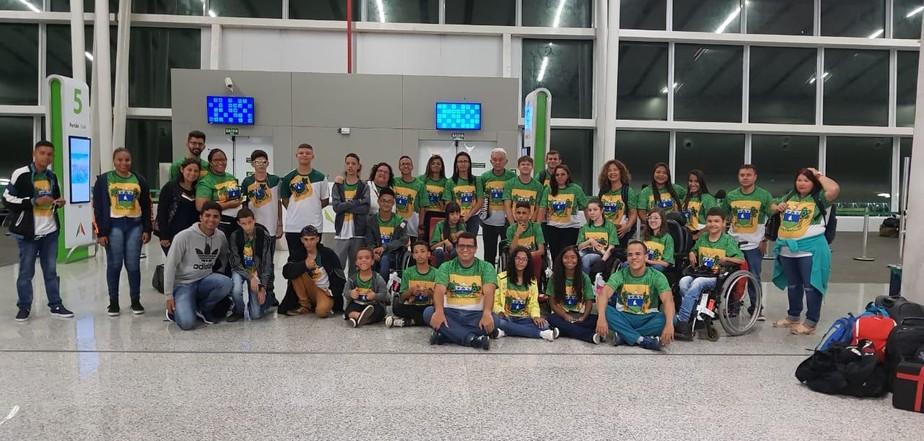 Rio Grande do Norte tenta superar marca de 2017 nas Paralimpíadas Escolares