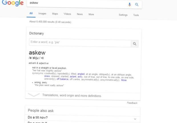 Os engenheiros do Google gostam de fazer pegadinhas em algumas buscas, e de espalhar jogos secretos (Foto: Reprodução)