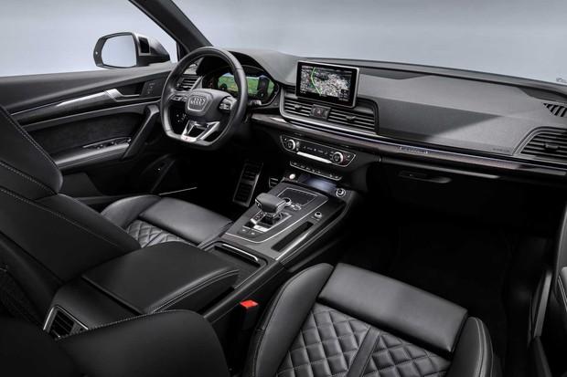Interior do Audi SQ5 TDI 2019 (Foto: Reprodução/Audi)
