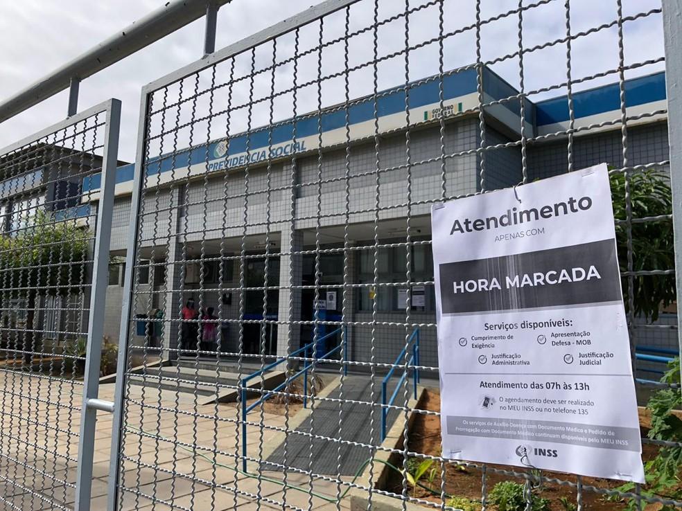 Agência do INSS de Petrolina reabre com atendimentos presenciais nesta segunda-feira (14) — Foto: Paulo Ricardo Sobral/ TV Grande Rio