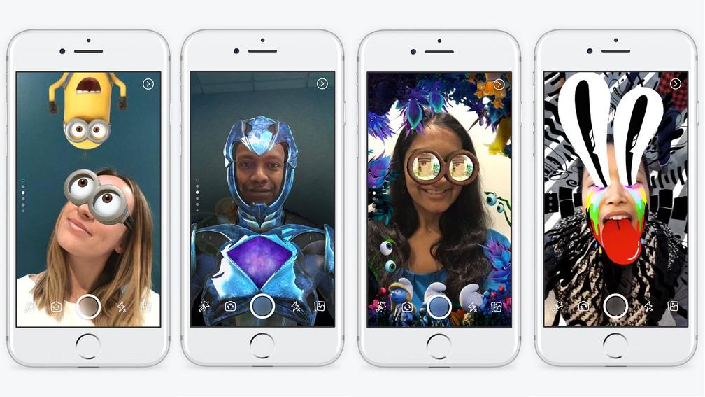 Facebook ganha o Stories, recurso para publicar fotos e vídeos que ficam no ar só 24 horas. (Foto: Divulgação/Facebook)