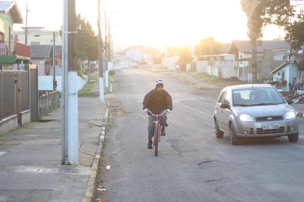 Previsão é de tempo firme e sol para Lages — Foto: Pablo Gomes/ Prefeitura de Lages