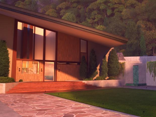 A arquitetura em 'Os Incríveis 2' (Foto: Zillow)