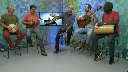 Cafezinho com Escobar: aprenda a fazer um samba para o Globo Esporte