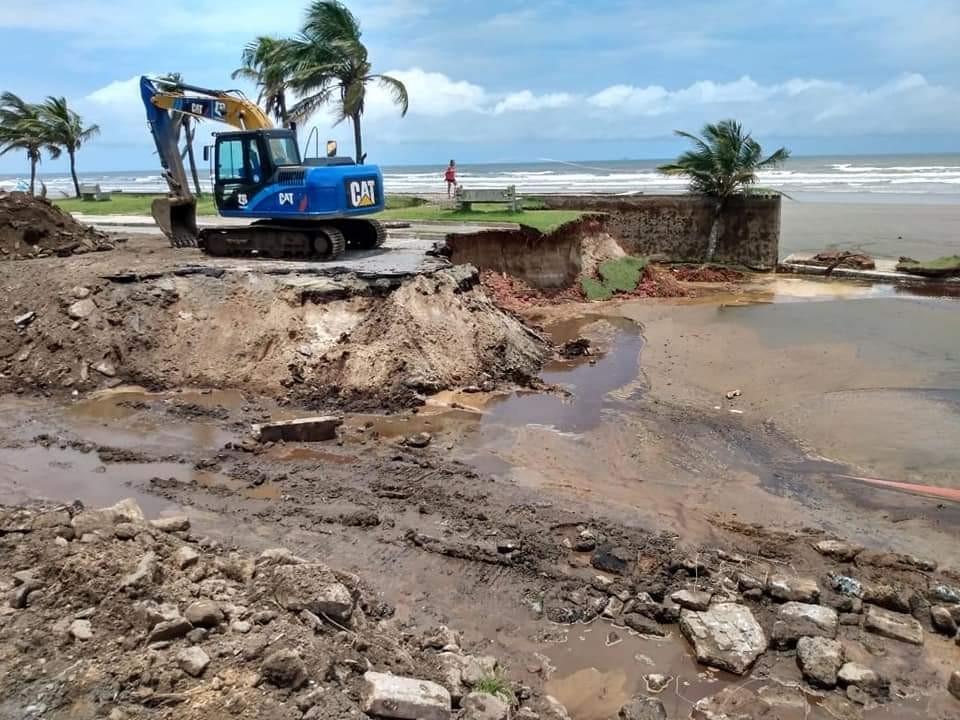 Moradores atingidos por chuva em Peruíbe podem pedir saque do FGTS até quinta